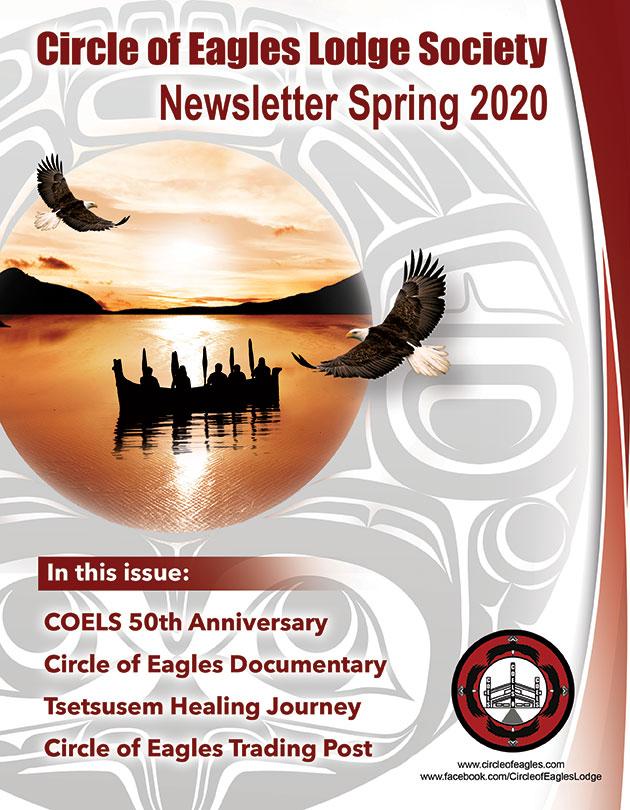 Newsletter cover Spring 2020